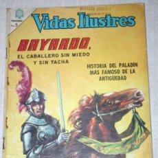 Tebeos: VIDAS ILUSTRES Nº 133 : BAYARDO, EL CABALLERO SIN MIEDO Y SIN TACHA (NOVARO) AÑO 1966. Lote 33260840