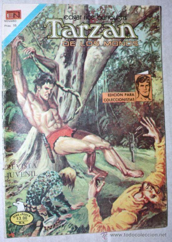 TARZAN DE LOS MONOS (SERIE AGUILA) Nº 2529 (NOVARO 1977) (Tebeos y Comics - Novaro - Tarzán)