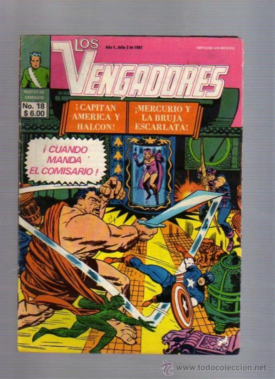 LOS VENGADORES EDIC. NOVEDADES TIPO LA PRENSA /NOVARO MEXICO REED. AÑOS 60TAS MARVEL (Tebeos y Comics - Novaro - Otros)