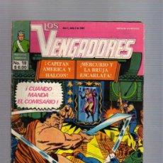 Tebeos: LOS VENGADORES EDIC. NOVEDADES TIPO LA PRENSA /NOVARO MEXICO REED. AÑOS 60TAS MARVEL. Lote 33317920