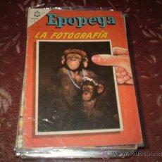 Tebeos: EPOPEYA Nº 83(LA FOTOGRAFIA). Lote 33494074
