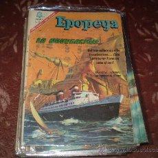 Tebeos: EPOPEYA Nº 101(LA NAVEGACION). Lote 33494112