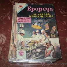 Tebeos: EPOPEYA Nº ESPECIAL ABRIL DE 1968( LA HAZAÑA MEDICA DEL SIGLO). Lote 33494138