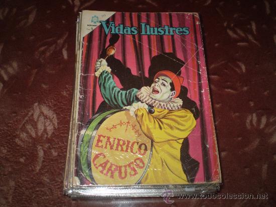 VIDAS ILUSTRES Nº 111( ENRICO CARUSO) (Tebeos y Comics - Novaro - Vidas ilustres)