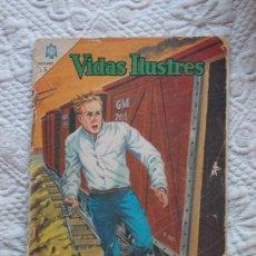 Tebeos: VIDAS ILUSTRES Nº 112. LA JUVENTUD DE WINSTON CHURCHILL. NOVARO. Lote 33552699