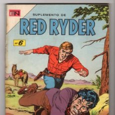 Tebeos: RED RYDER ESPECIAL # 6 -128 PAGINAS NOVARO 1968 - IMPECABLE ESTADO. Lote 33692435