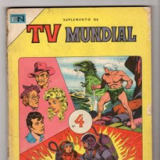 Tebeos: TV MUNDIAL ESPECIAL # 4 -128 PAG NOVARO 1970 - DRACULA, NARRACIONES TERRORIFICAS, MISION IMPOSIBLE. Lote 33692476