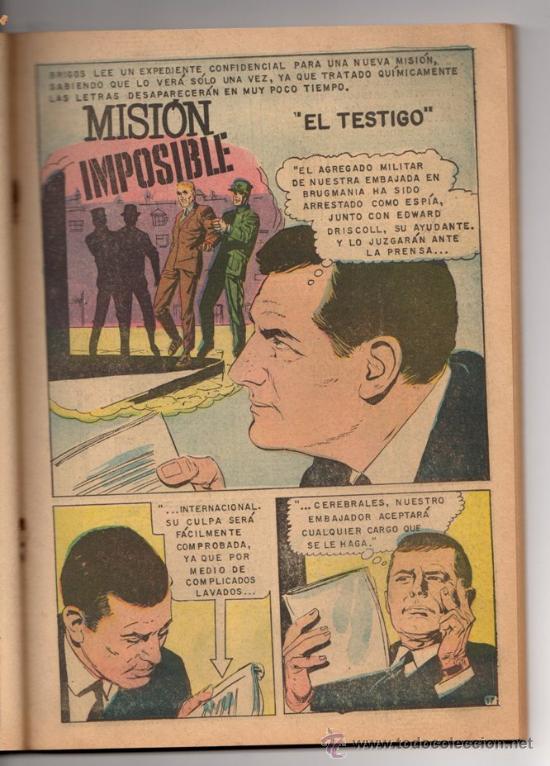 Tebeos: TV MUNDIAL ESPECIAL # 4 -128 PAG NOVARO 1970 - DRACULA, NARRACIONES TERRORIFICAS, MISION IMPOSIBLE - Foto 3 - 33692476