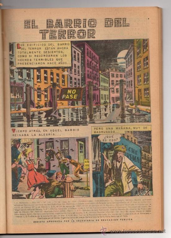 Tebeos: TV MUNDIAL ESPECIAL # 4 -128 PAG NOVARO 1970 - DRACULA, NARRACIONES TERRORIFICAS, MISION IMPOSIBLE - Foto 4 - 33692476