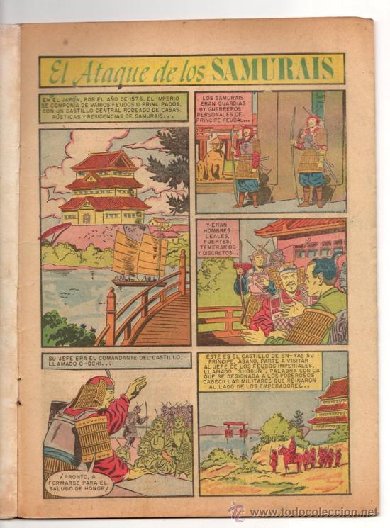 Tebeos: EPOPEYA # 3 NOVARO 1958 EL ATAQUE DE LOS SAMURAIS BUEN ESTADO - Foto 3 - 33771877