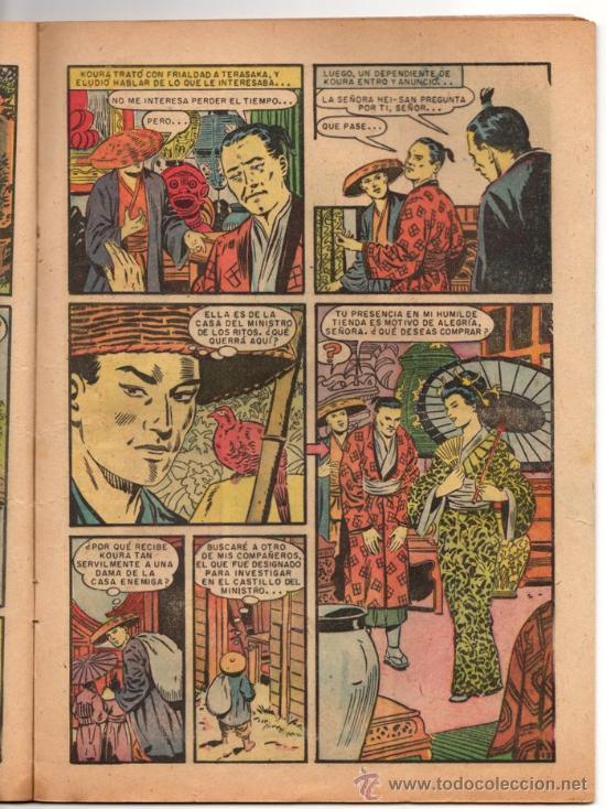 Tebeos: EPOPEYA # 3 NOVARO 1958 EL ATAQUE DE LOS SAMURAIS BUEN ESTADO - Foto 4 - 33771877