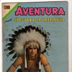 Tebeos: AVENTURA # 669 AGUILA BRAVA NOVARO 1970 CARRERA SALVADORA BUEN ESTADO. Lote 33785264