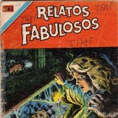 Tebeos: RELATOS FABULOSOS ED. NOVARO Nº 169 FORMATO AGUILA. Lote 98168110
