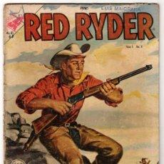 Tebeos: RED RYDER # 4 POR FRED HARMAN NOVARO (SEA) 1955 BUEN ESTADO CON DETALLES DE USO. Lote 33886074