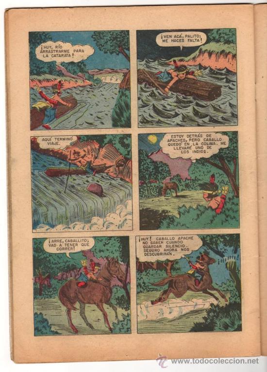 Tebeos: RED RYDER # 4 POR FRED HARMAN NOVARO (SEA) 1955 BUEN ESTADO CON DETALLES DE USO - Foto 4 - 33886074