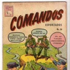 Tebeos: COMANDOS # 56 KELLY COMBATE LA PRENSA, MEXICO (NOVARO) 1960 BUEN ESTADO. Lote 33886240