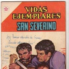 Tebeos: VIDAS EJEMPLARES # 112 SAN SEVERINO NOVARO 1958 BUEN ESTADO. Lote 33960224