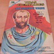 Livros de Banda Desenhada: VIDAS EJEMPLARES Nº 279 SAN GREGORIO MAGNO (NOVARO ) (COIB120). Lote 176051478