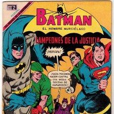 Tebeos: BATMAN # 506 CAMPEONES DE LA JUSTICIA - NOVARO 1969 - L. VERDE, ATOM, BATMAN, SUPERMAN - IMPECABLE. Lote 34032923
