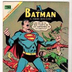 Tebeos: BATMAN # 482 SUPERMAN NOVARO 1969 CAMPEONES DE LA JUSTICIA AQUAMAN, ATOM, MARVILA IMPECABLE FESTIVAL. Lote 34058753