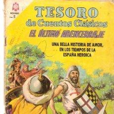 Tebeos: COMIC NOVARO TESORO DE CUENTOS CLASICOS Nº 102. Lote 34326320