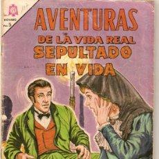 Tebeos: COMIC NOVARO AVENTURAS DE LA VIDA REAL Nº 107. Lote 34326732