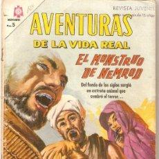 Tebeos: COMIC NOVARO AVENTURAS DE LA VIDA REAL Nº 124. Lote 34327080