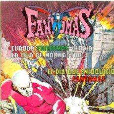 Tebeos: FANTOMAS : CUANDO FANTOMAS VENDIO LA ISLA DE MANHATTAN . Lote 34512711