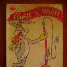 Tebeos: BUGS BUNNY! - EL CONEJO DE LA SUERTE N° 147 - ORIGINAL EDITORIAL NOVARO. Lote 34557840