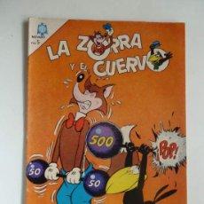 Tebeos: LA ZORRA Y EL CUERVO Nº 178, AÑO 1965. Lote 34605220