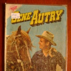 Tebeos: GENE AUTRY N° 61 - ORIGINAL EDITORIAL NOVARO. Lote 34611405