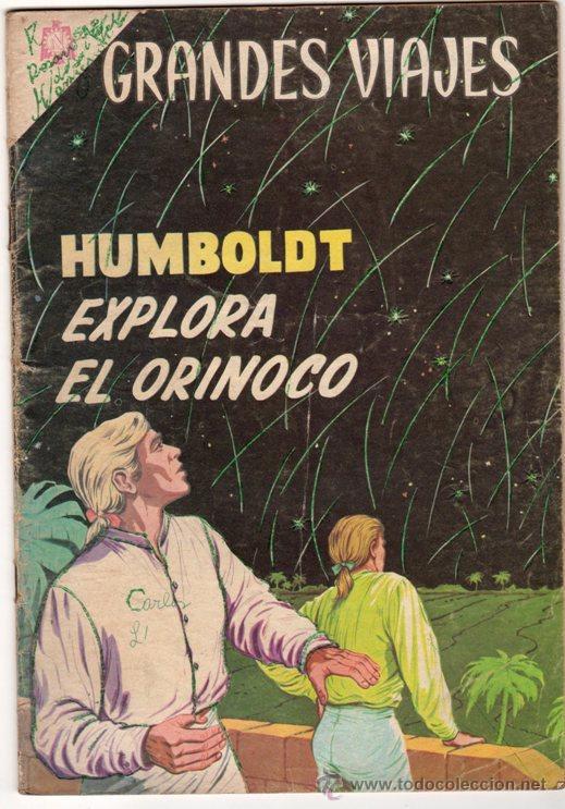 GRANDES VIAJES # 23 HUMBOLDT EXPLORA EL ORINOCO - NOVARO 1964 - (Tebeos y Comics - Novaro - Grandes Viajes)