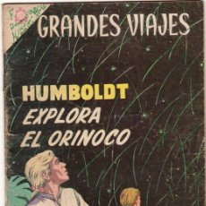 Tebeos: GRANDES VIAJES # 23 HUMBOLDT EXPLORA EL ORINOCO - NOVARO 1964 - . Lote 34638085