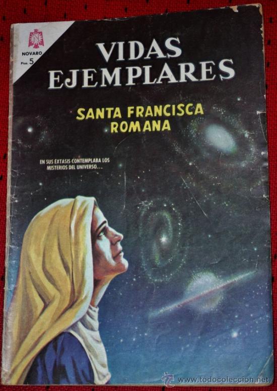 VIDAS EJEMPLARES Nº 221 :SANTA FRANCISCA ROMANA. (Tebeos y Comics - Novaro - Vidas ejemplares)