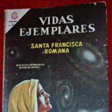 Tebeos: VIDAS EJEMPLARES Nº 221 :SANTA FRANCISCA ROMANA.. Lote 34688715