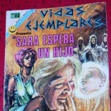 Tebeos: VIDAS EJEMPLARES Nº 370 :SARA ESPERA UN HIJO (EPISODIOS BÍBLICOS). Lote 34688777