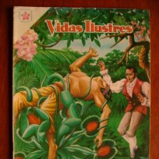 Tebeos: TADEO HAENKÉ! - VIDAS ILUSTRES N° 43 - ORIGINAL EDITORIAL NOVARO. Lote 34733661