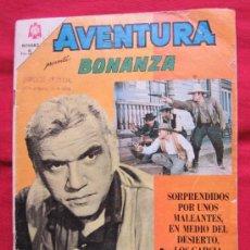 Tebeos: AVENTURA 393 , PRESENTA , BONANZA , , EDITORIAL NOVARO 1965. Lote 34851525