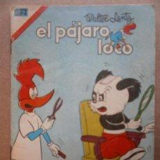 Tebeos: EL PAJARO LOCO # 1-15 SERIE COLIBRI EDITORIAL NOVARO MEXICO 1976 ANDY PANDA. Lote 34954197