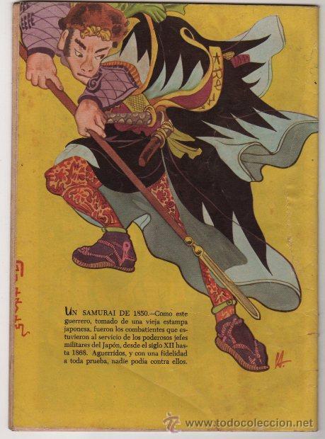 Tebeos: EPOPEYA # 3 NOVARO 1958 EL ATAQUE DE LOS SAMURAIS EXCELENTE ESTADO - Foto 2 - 35071617
