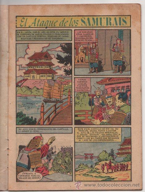 Tebeos: EPOPEYA # 3 NOVARO 1958 EL ATAQUE DE LOS SAMURAIS EXCELENTE ESTADO - Foto 3 - 35071617