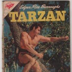 Giornalini: TARZAN # 66 GORDON SCOTT EN TAPA - NOVARO 1957 - CON DETALLES. Lote 35117993