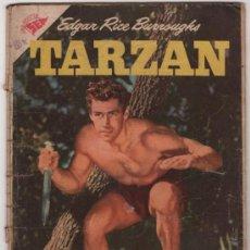 Giornalini: TARZAN # 65 GORDON SCOTT EN TAPA - NOVARO 1957 - CON DETALLES. Lote 35118006