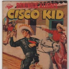 Tebeos: DOMINGOS ALEGRES # 193 CISCO KID JOSE LUIS SALINAS NOVARO 1957 EXCELENTE ESTADO DELL # 14 1952. Lote 35118015