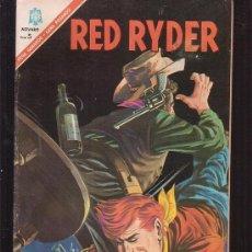 Tebeos: RED RYDER 144 ( FORMATO GRANDE ) EDITA : NOVARO 1966. Lote 35175486