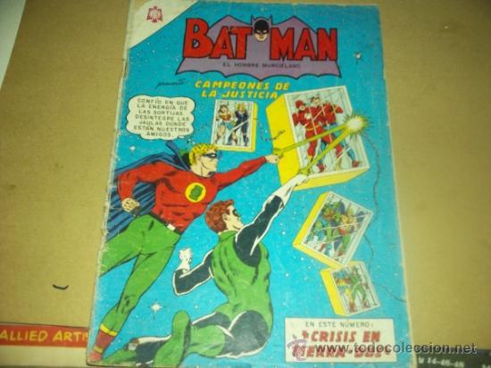 BATMAN N. 239 PRES. CAMPEONES DE LA JUSTICIA (Tebeos y Comics - Novaro - Batman)