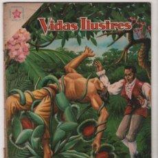 Tebeos: VIDAS ILUSTRES # 43 TADEO HAENKÉ NOVARO 1959 BUEN ESTADO. Lote 35352917