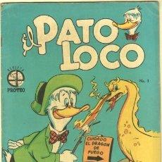 Tebeos: EL PATO LOCO Nº 3 EDI. PROTEO 21 DE DICIEMBRE 1952. Lote 35373511