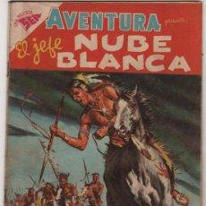 Tebeos: AVENTURA # 92 EL JEFE NUBE BLANCA NOVARO 1958 BUEN ESTADO. Lote 177893532