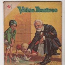 Livros de Banda Desenhada: VIDAS ILUSTRES # 64 VICTOR HUGO, EL ETERNO ABUELO NOVARO 1961 MUY BUEN ESTADO. Lote 35526632